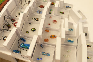 Some of our jewellery all boxed up