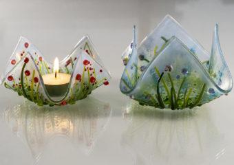 Pair of tea lights